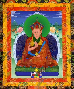Thangka image of The First Drubwang Pedma Norbu Rinpoche