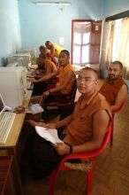 New Computers for Namdroling Monastery