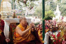 Life Release by His Holiness Penor Rinpoche in Bodhgaya, India