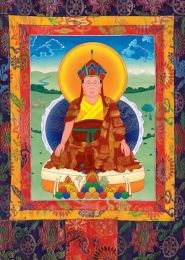 Thangka of the late Holiness Penor Rinpoche