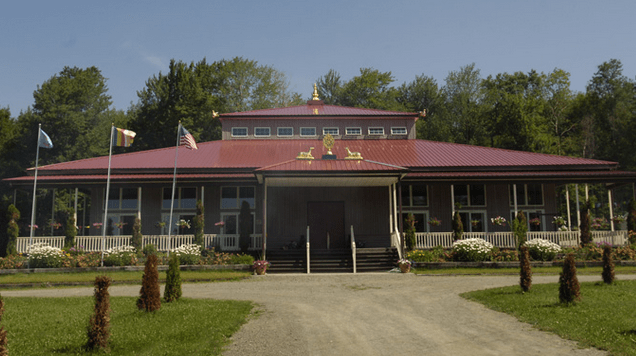 Temple of the Palyul Retreat Centre, Up-State New York, USA