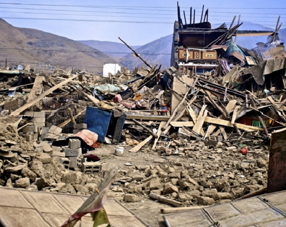 Aftermath of Yushu earthquake