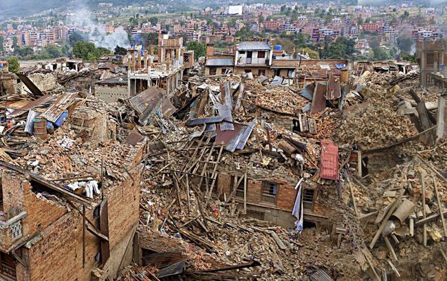 Ο σεισμός στο Νεπάλ το 2015