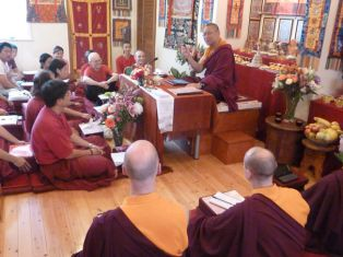 Dharma teaching in Newcastle