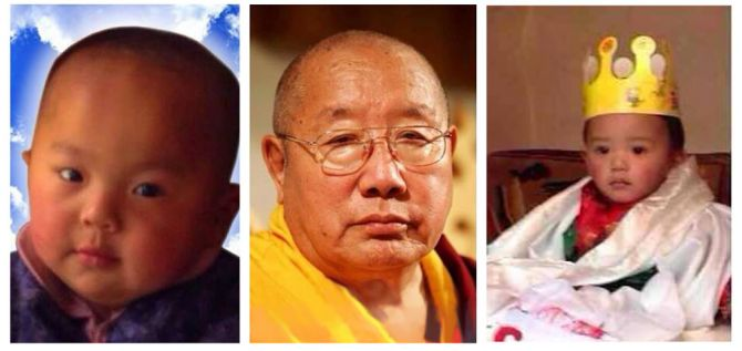 HH Penor Rinpoche and His Yangsi